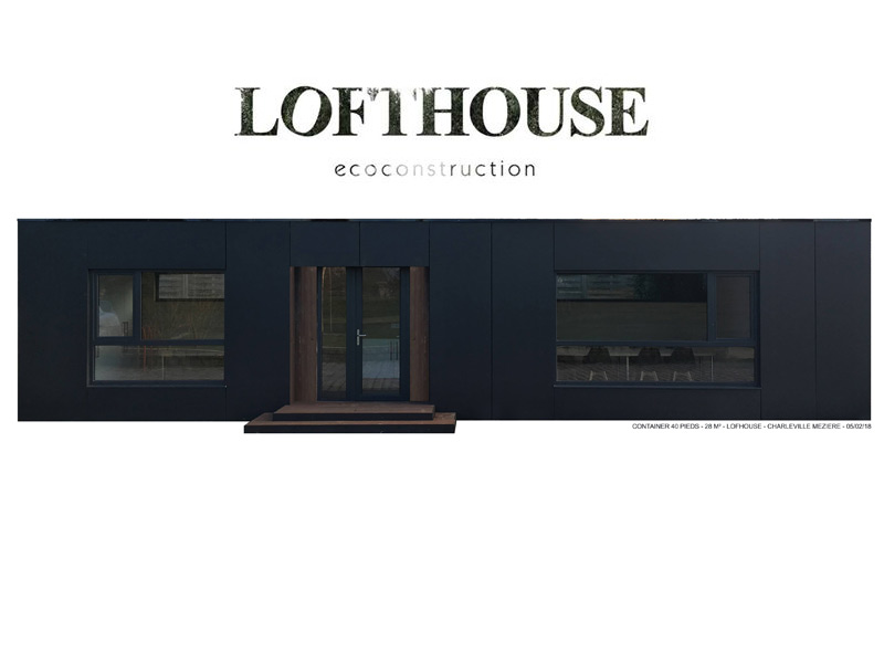 LOFTHOUSE Eco construction modulaire Ardennaise